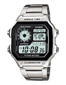 Zegarek CASIO AE-1200WHD-1AVEF WR100 - 2847546782