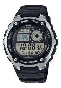 Zegarek Casio AE-2100W-1AVEF WR200 LED - 2847546788