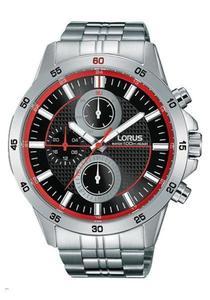 Zegarek LORUS RY407AX9 MultiData WR100 - 2847548317