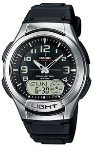 Zegarek Casio AQ-180W-1BV DataBank - 2847546803