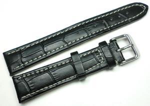 Skórzany pasek do zegarka 18 mm JVD J18.001.01 - 2847548478
