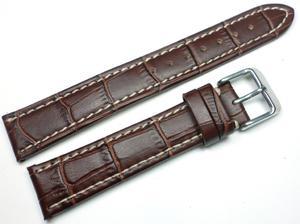 Skórzany pasek do zegarka 18 mm JVD J18.002.05 - 2837213146