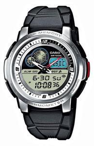 Zegarek Casio AQF-102W-7BVEF Termometr - 2847546811