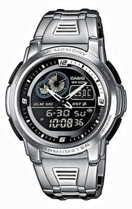 Zegarek Casio AQF-102WD-1BVEF Termometr - 2847546812