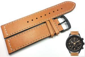 Pasek do zegarka Timex T2N700 P2N700 20 mm Skóra - 2847548607