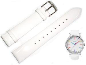 Pasek do zegarka Timex T2N791 P2N791 18 mm Skóra - 2847548617