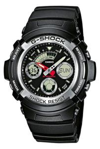 Zegarek CASIO AW-590-1AER G-SHOCK A/C WR200 - 2847546822