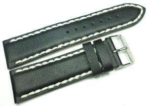 Skórzany pasek do zegarka 24 mm Tekla T24.002.01 - 2847548739