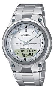Zegarek CASIO AW-80D-7AV DataBank WR50 - 2847546832