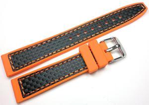 Silikonowy pasek do zegarka 18 mm Tekla TS18.012.10 - 2840870302