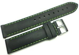 Silikonowy pasek do zegarka 20 mm Tekla TS20.002.01 - 2836814175