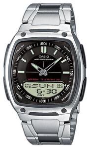 Zegarek CASIO AW-81D-1AV DataBank WR50 - 2847546834