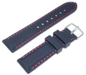 Silikonowy pasek do zegarka 22 mm Tekla TS22.001.01 - 2842410200