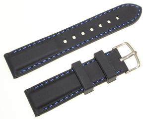 Silikonowy pasek do zegarka 22 mm Tekla TS22.006.01 - 2845131171