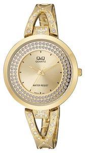 Zegarek Q&Q F529-010 Biżuteryjny Cyrkonie - 2847548840