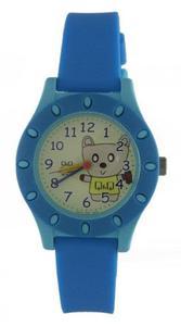 Zegarek Q&Q VQ13-003 Dziecięcy Miś WR 100M - 2847548926