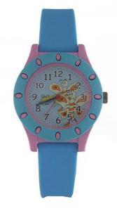 Zegarek Q&Q VQ13-006 Dziecięcy Motylki WR 100M - 2847548929