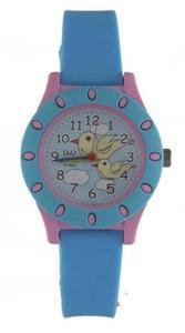 Zegarek Q&Q VQ13-008 Dziecięcy Ptaszki WR 100M - 2847548931