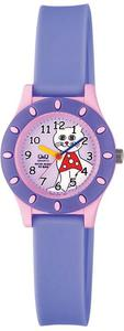 Zegarek Q&Q VQ13-010 Dziecięcy Wodoszczelny - 2847548933