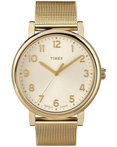 Zegarek Timex T2N598 Modern Originals Goldtone Indiglo - 2832895855
