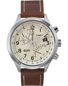 Zegarek Timex T2N932 IQ T Series Fly-Back Chronograf - 2847549051