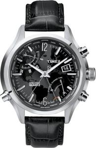 Zegarek Timex T2N943 IQ Traveller Series World Time - 2847549052