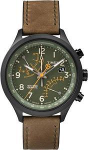 Zegarek TIMEX T2P381 IQ T SERIES FLY-BACK CHRONOGRAF - 2847549067