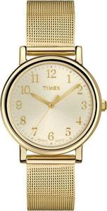 Zegarek TIMEX T2P462 Modern Originals Goldtone INDIGLO - 2847549075
