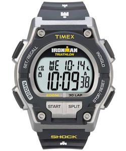 Zegarek TIMEX T5K195 IRONMAN TRIATHLON 30 LAP SHOCK INDIGLO - 2845317448