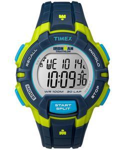 Zegarek TIMEX T5K814 IRONMAN TRADITIONAL 30 LAP INDIGLO - 2847549131