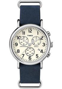Zegarek TIMEX TW2P62100 WEEKENDER INDIGLO CHRONO - 2847549149