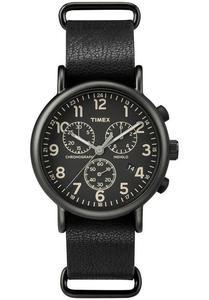 Zegarek TIMEX TW2P62200 WEEKENDER INDIGLO CHRONO - 2847549150