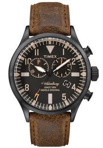 Zegarek TIMEX TW2P64800 WATERBURY CHRONO INDIGLO - 2847549155