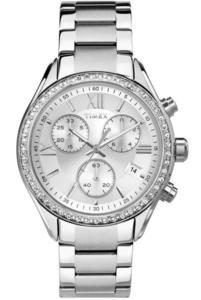 Zegarek TIMEX TW2P66800 WOMEN'S CHRONO SWAROVSKI - 2847549157