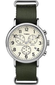Zegarek TIMEX TW2P71400 WEEKENDER INDIGLO CHRONO - 2847549162