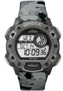 Zegarek TIMEX TW4B00600 EXPEDITION MILITARY SHOCK RESISTANT INDIGLO - 2847549212