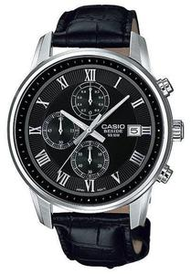 Zegarek Casio BEM-511L-1AVEF Beside Chronograf - 2847546889