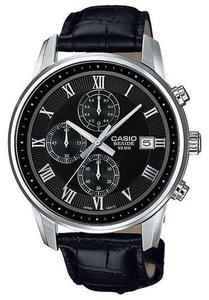 Zegarek CASIO BEM-511L-1AVEF CHRONOGRAF WR50 - 2847546889