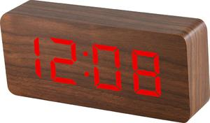 Budzik MPM C02.3565.50 termometr, 3 alarmy - 2850399395