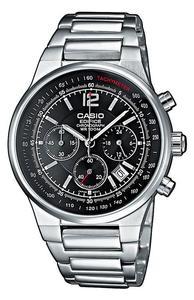Zegarek Casio EF-500D-1AV Edifice Chronograf - 2852460827
