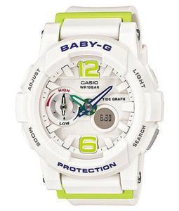 Zegarek CASIO BGA-180-7B2ER BABY-G A/C THERMO TIDE MOON - 2847546902