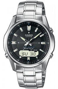 Zegarek Casio LCW-M100DSE-1AER Solar Szafir Wave Ceptor - 2852598281