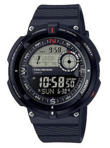 Zegarek Casio SGW-600H-1BER OutGear Kompas - 2852598301