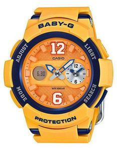 Zegarek CASIO BGA-210-4BER BABY-G A/C DUAL TIME WR100 - 2847546916
