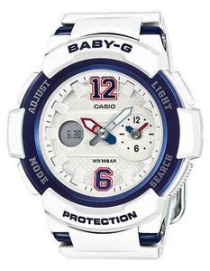 Zegarek CASIO BGA-210-7B2ER BABY-G A/C DUAL TIME WR100 - 2847546918