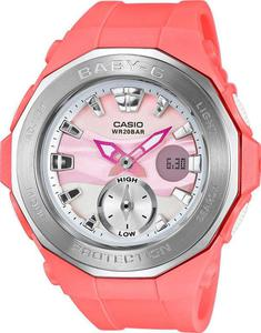 Zegarek CASIO BGA-220-4AER BABY-G A/C THERMO TIDE MOON - 2847546919