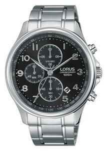 Zegarek Lorus RM357DX9 Chronograf WR 100M - 2854962495
