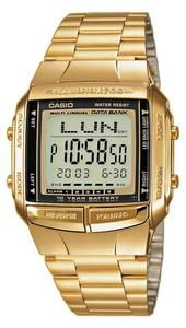 Zegarek Casio DB-360GN-9AEF DataBank Retro - 2847546934
