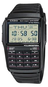 Zegarek Casio DBC-32-1AEF DataBank Kalkulator - 2847546936