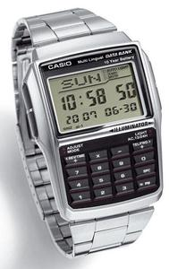 Zegarek Casio DBC-32D-1AEF DataBank Kalkulator - 2847546937